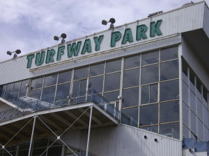 The Turfway Park plant. Quite an imposing structure.