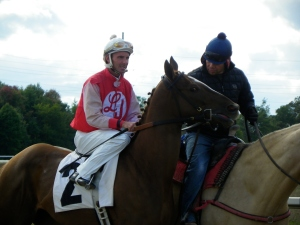 Michigan-based jockey T.D. Houghton has not been allowed to ride at several racetracks since his involvement in a still-pending investigation was announced in 2007.